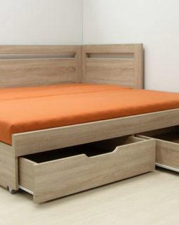 Rozkládací pohovky TANDEM - pro trvalé spaní